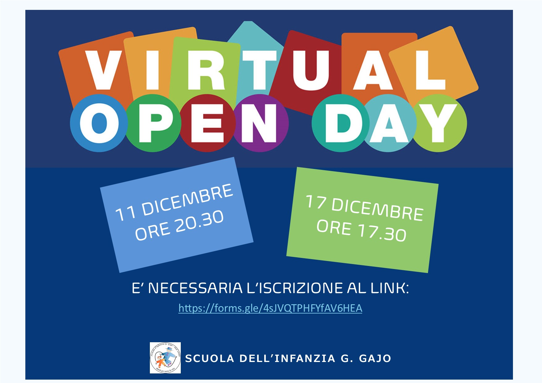 Open Day Gajo 2020